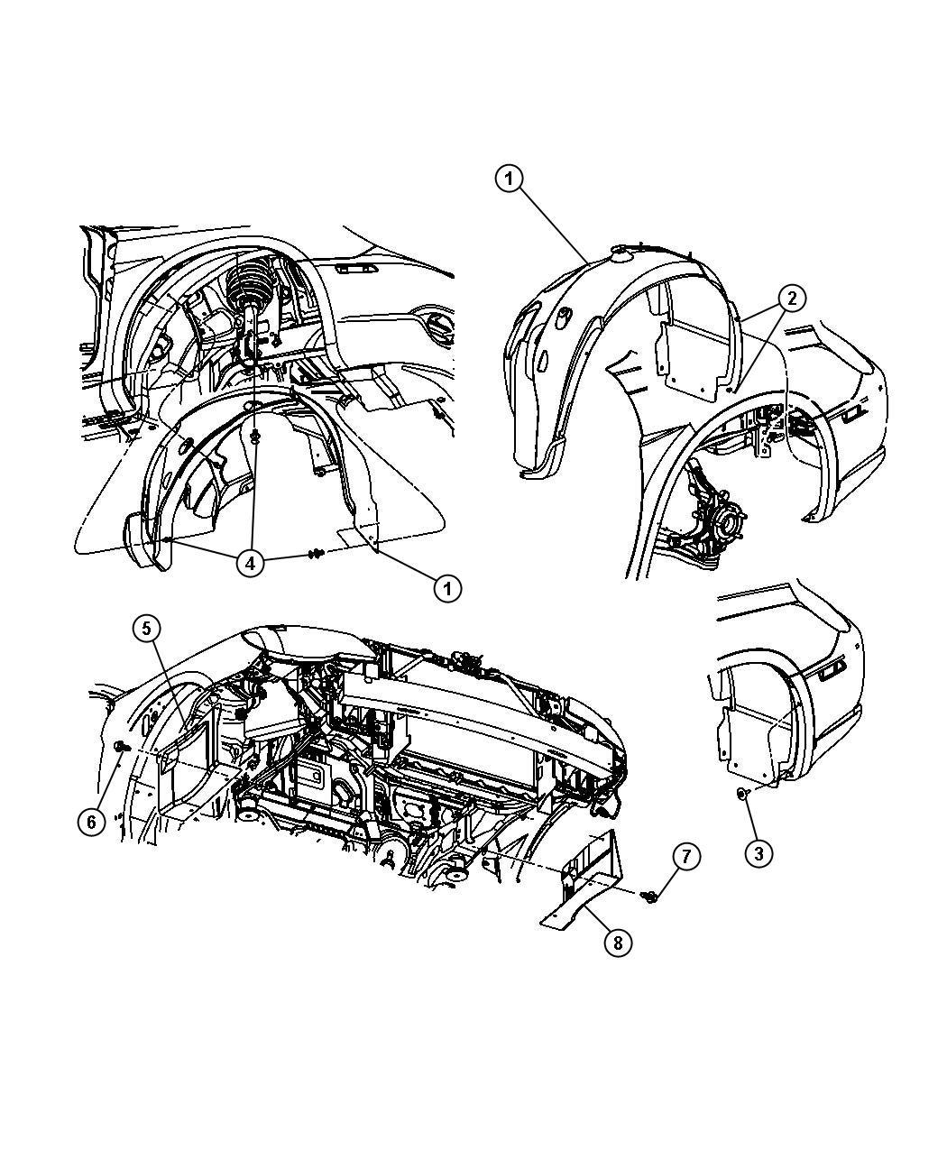 2013 Chrysler 200 Convertible Limited 3.6L V6 Shield