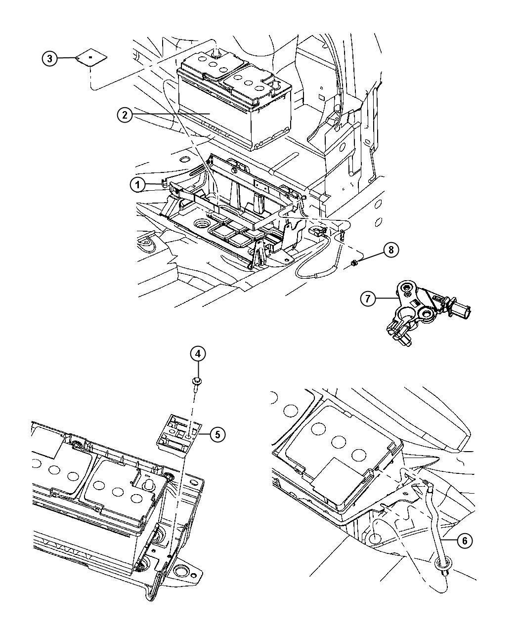 Dodge Charger Sensor Battery Ibs Negative
