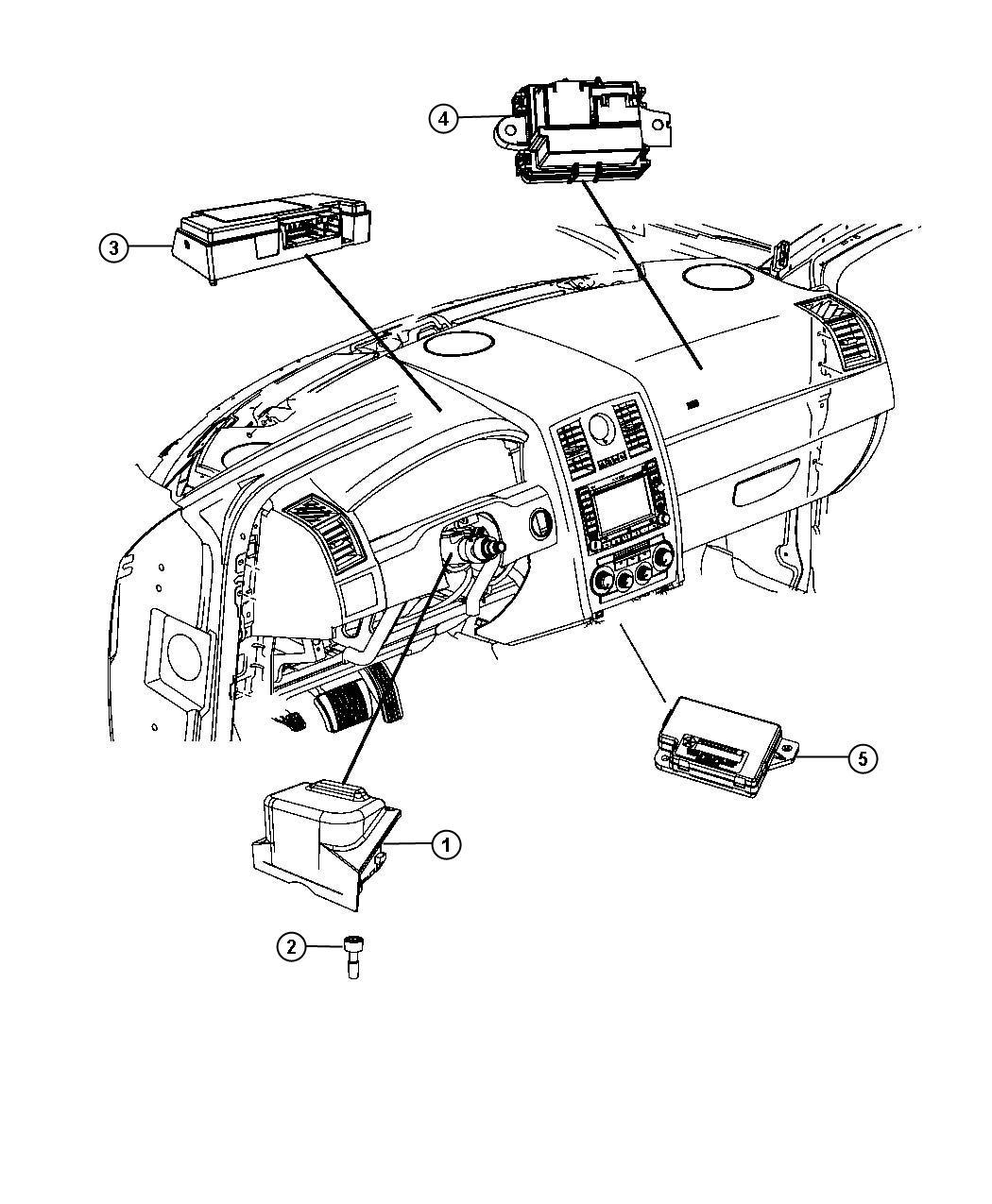 2013 Chrysler 300 Module. Telematics. Hfm, those