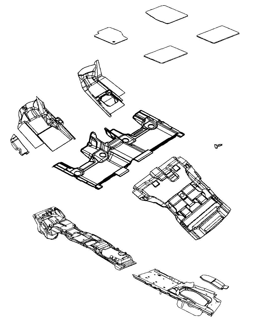 Jeep Grand Cherokee Mat kit. Floor. Cwa, momaximum