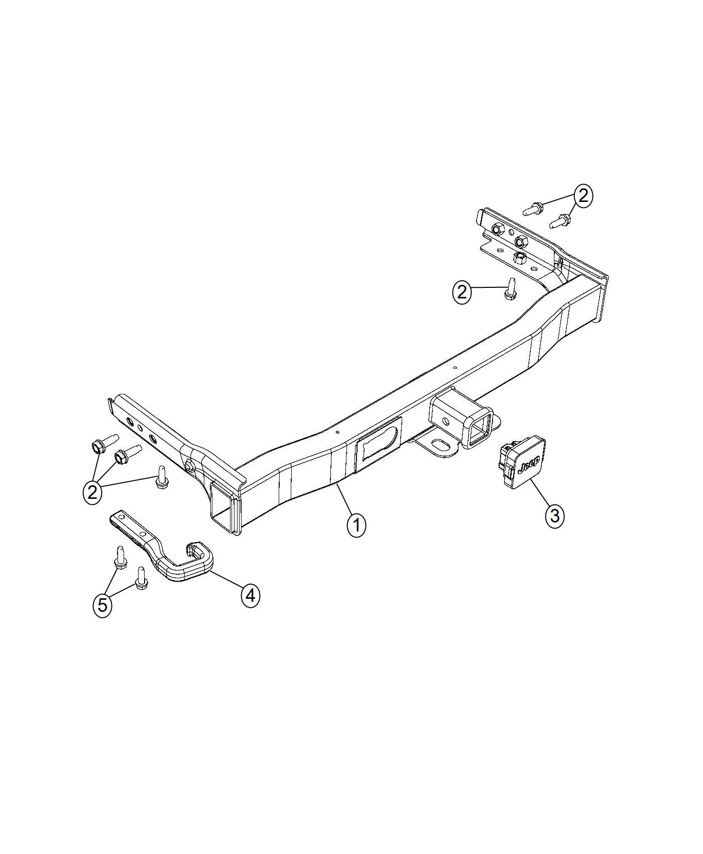 2014 Jeep Cherokee Hitch. Trailer. [class iii receiver