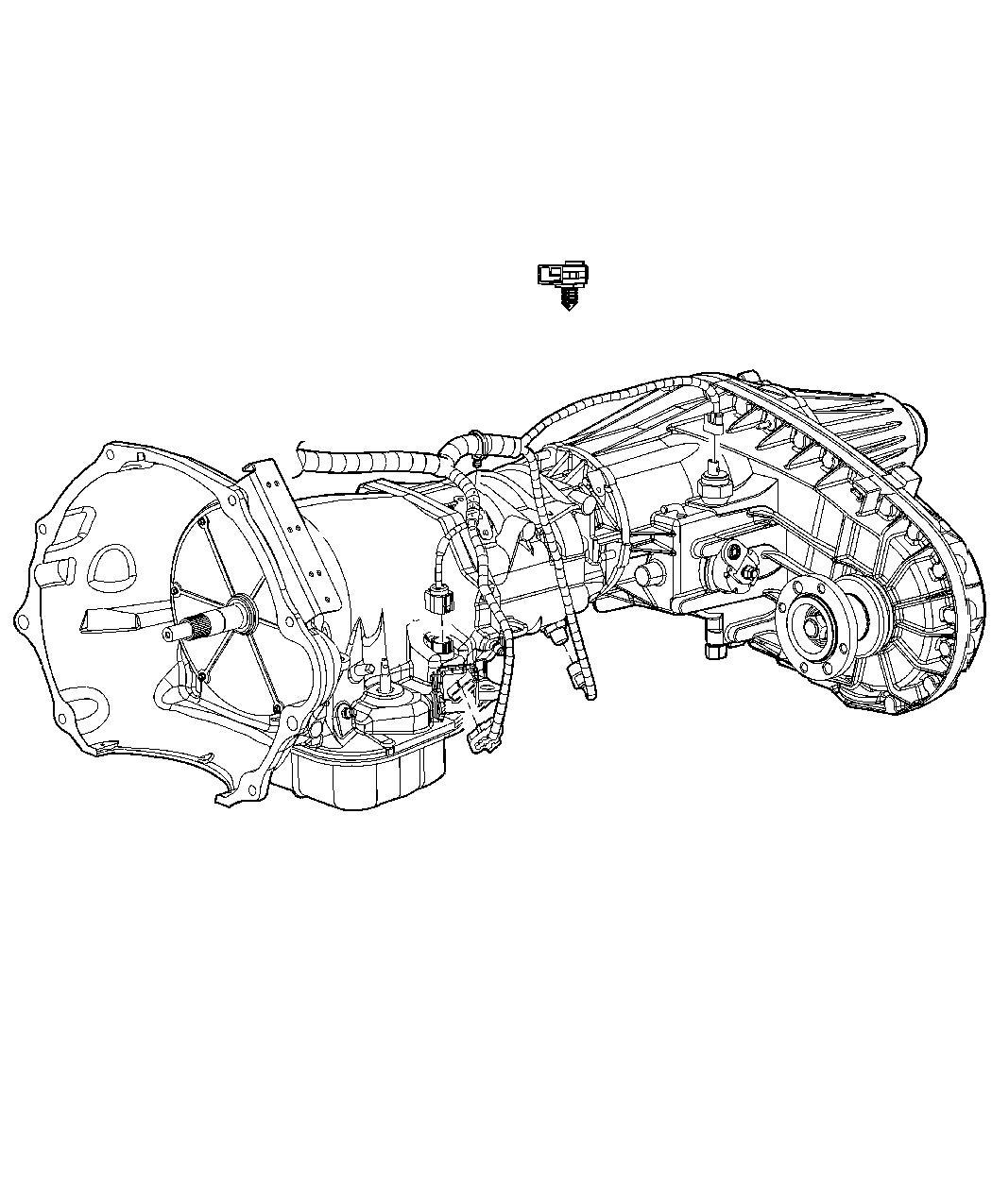 RAM 3500 Wiring. Transmission. [160 amp alternator