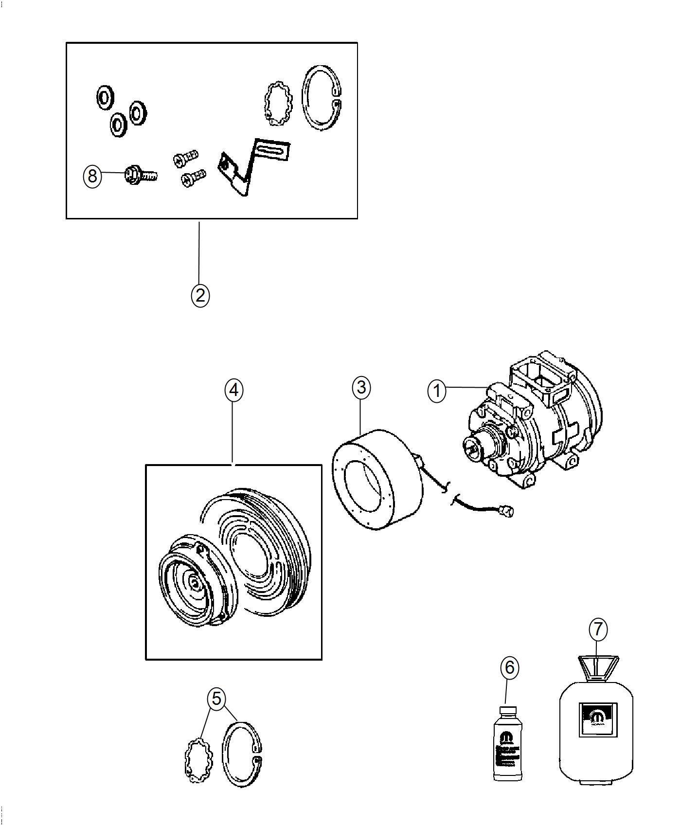 A C Compressor Diagram