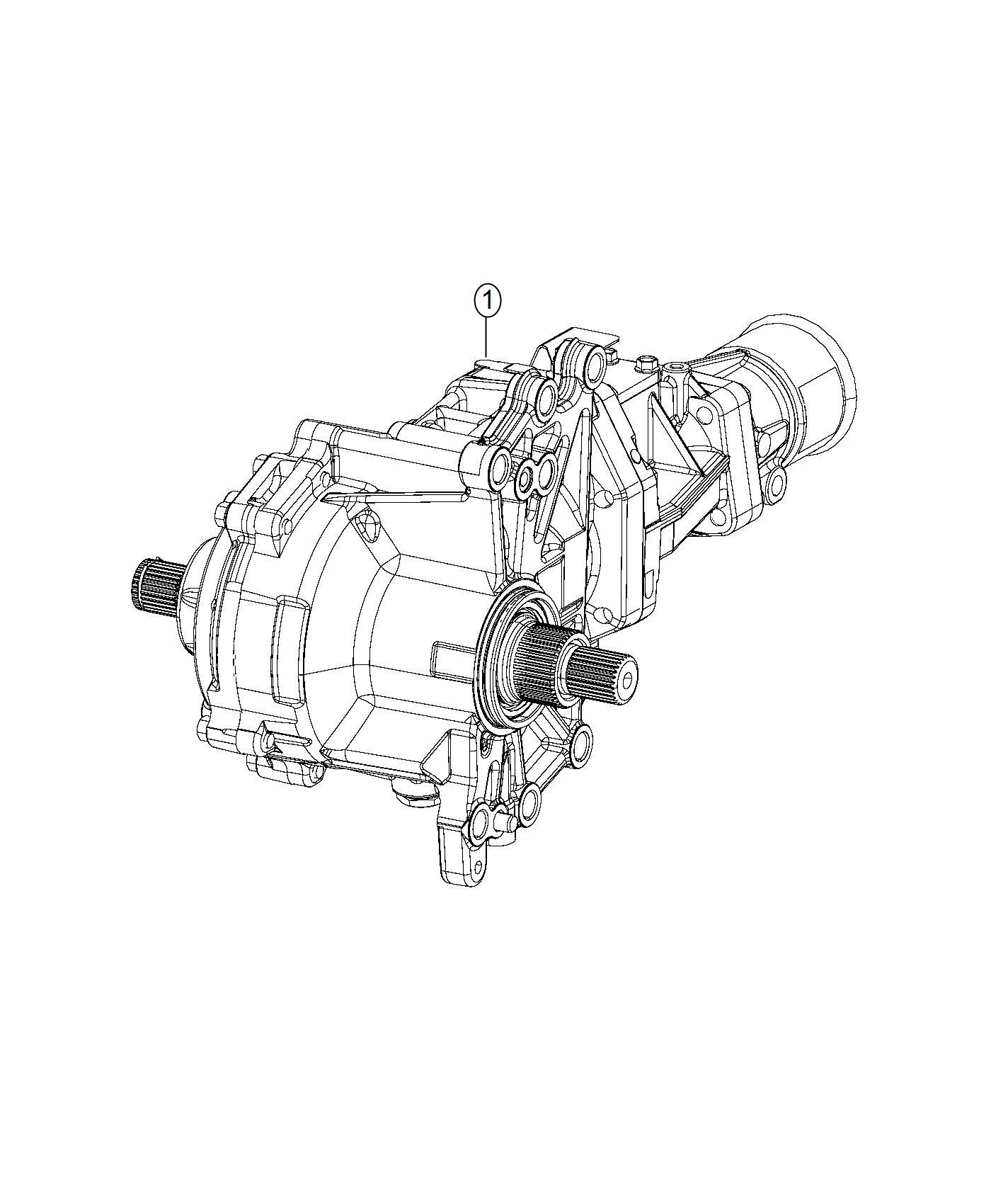 Power Transfer Unit 6 Speed Automatic Transmission