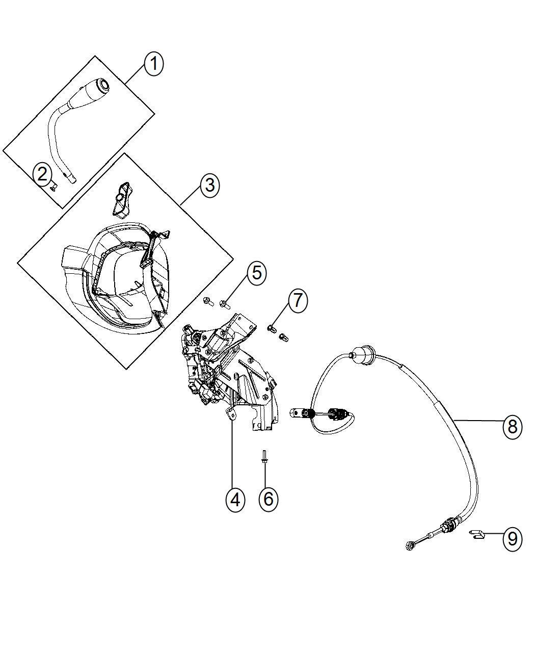Dodge Charger Gap Hider Steering Column Shroud Trim No