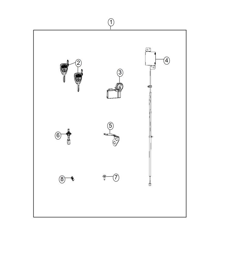2014 Jeep Wrangler Complete Remote Start Kit, same as