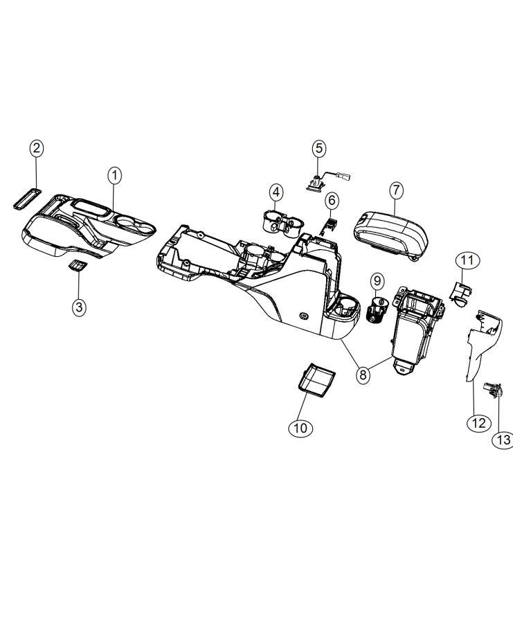 2012 Dodge Power outlet. Inverter. Trim: [no description