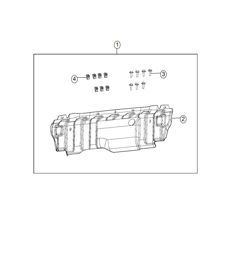 2015 Jeep Wrangler Bolt. Hex head. M10x1.50x40.00. [mopar
