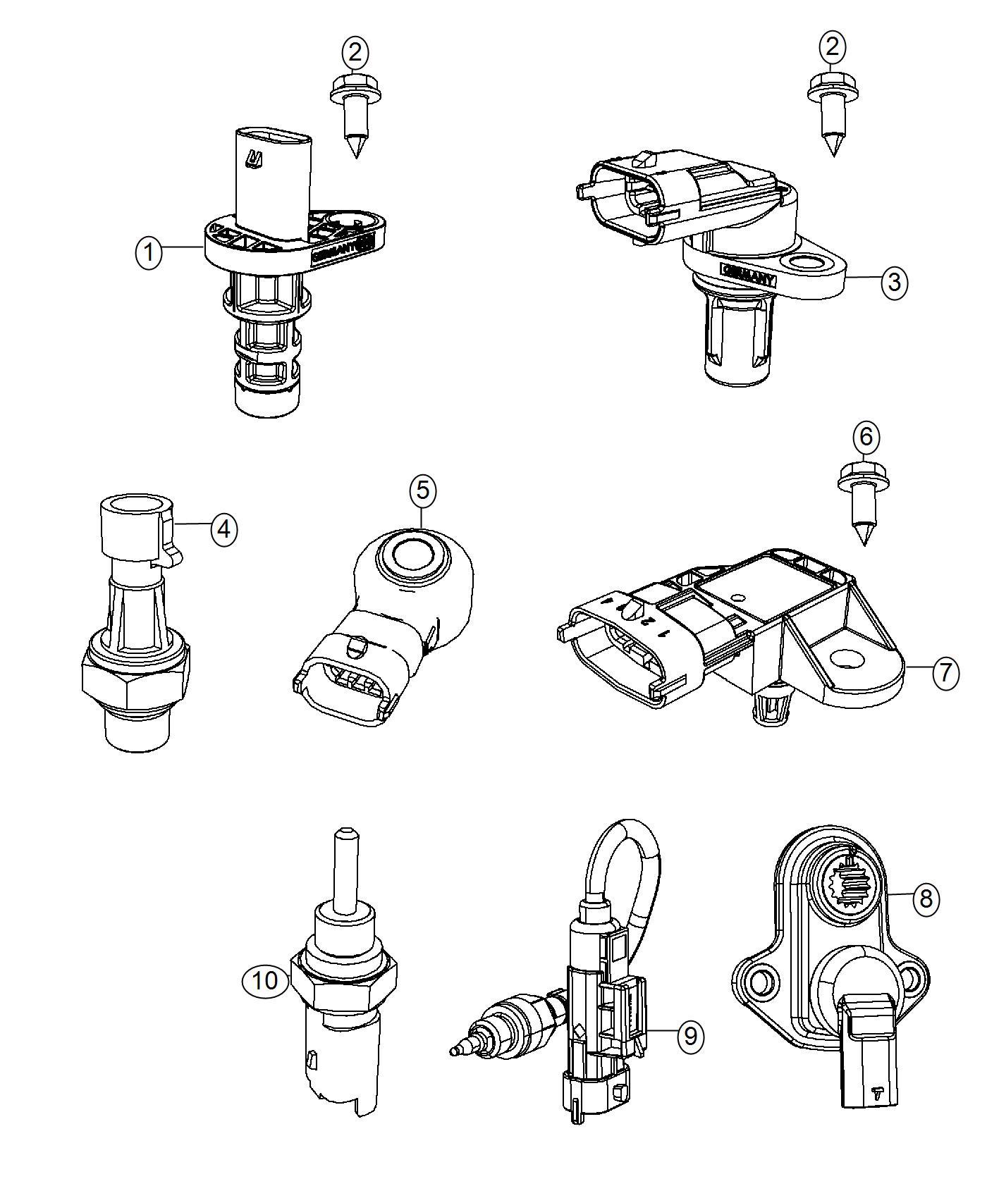 Dodge Dart Sensor Transmission Range Export Power
