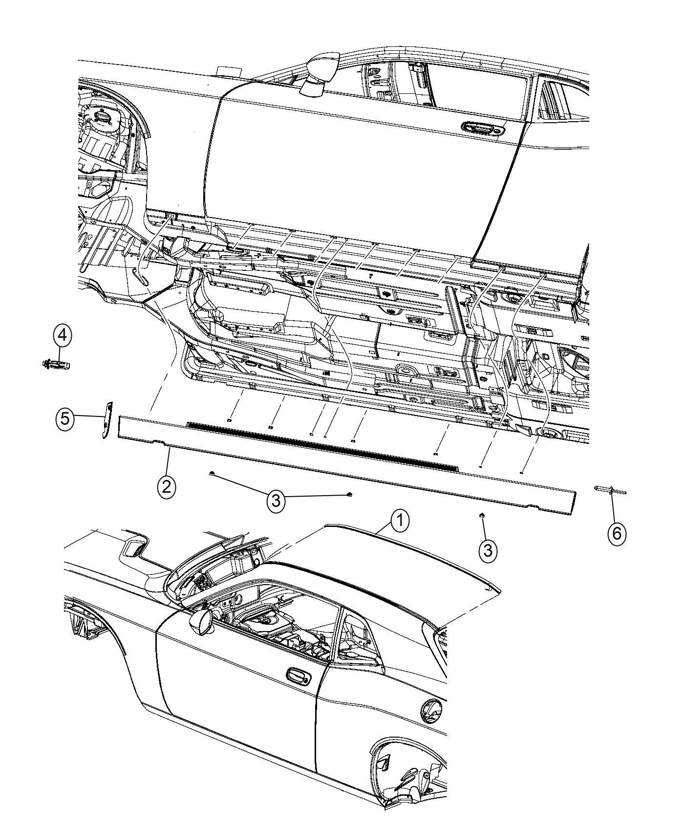 Dodge Challenger Nut Specialty M4 2x1 4x40 75 Lpl