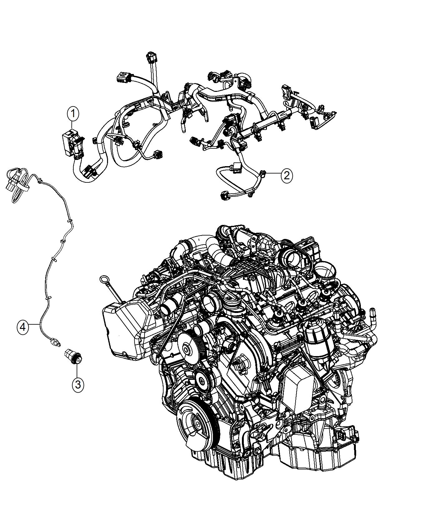 Jeep Grand Cherokee Wiring. Injector. [50 state emissions
