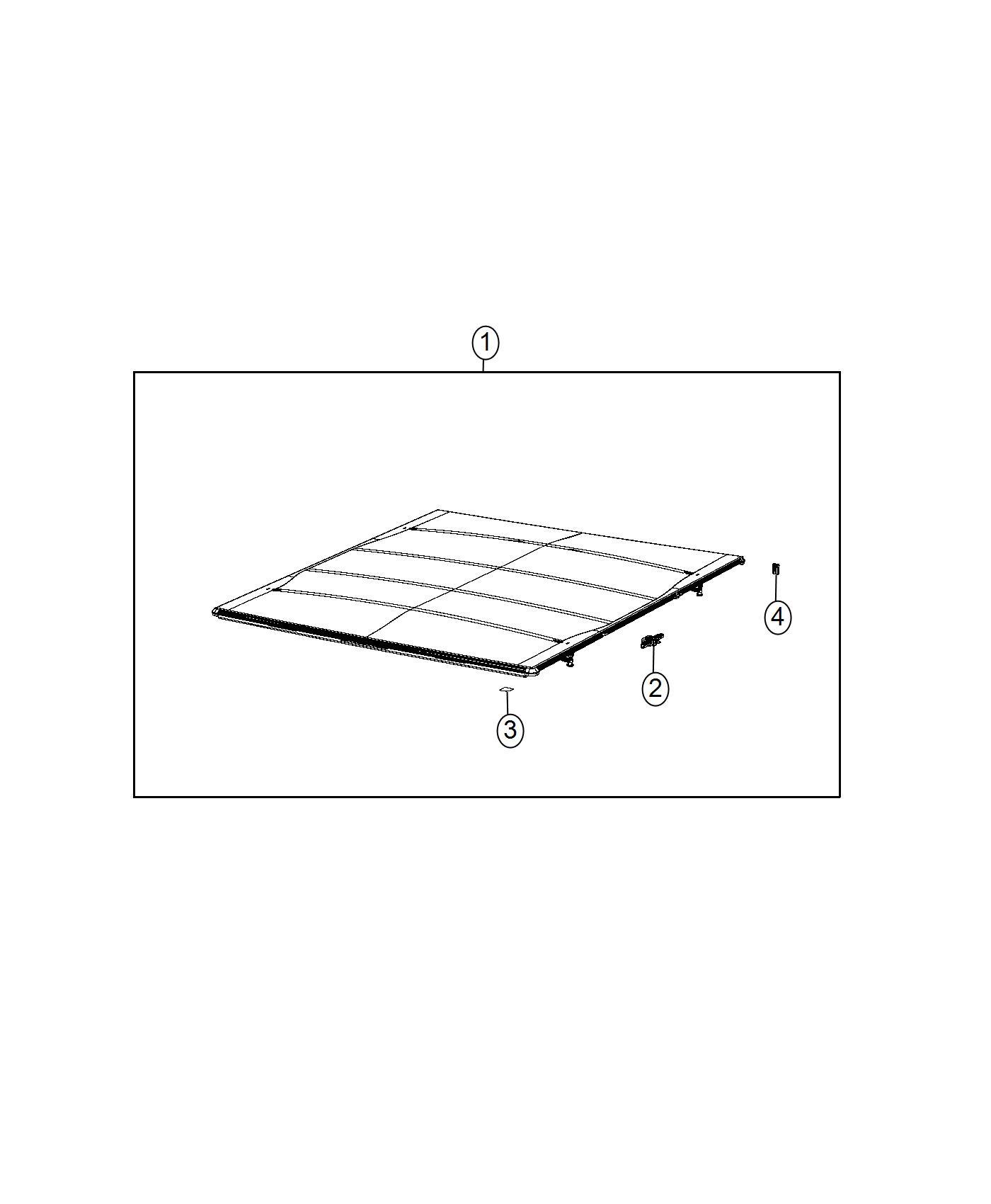 RAM 3500 Cover kit. Tonneau-folding. Tonneaufolding