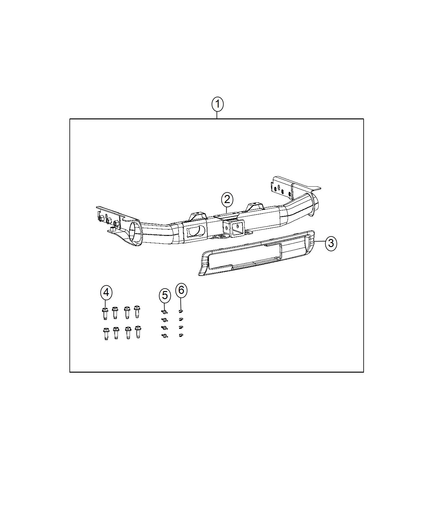 Jeep Grand Cherokee Production Class IV Hitch Receiver