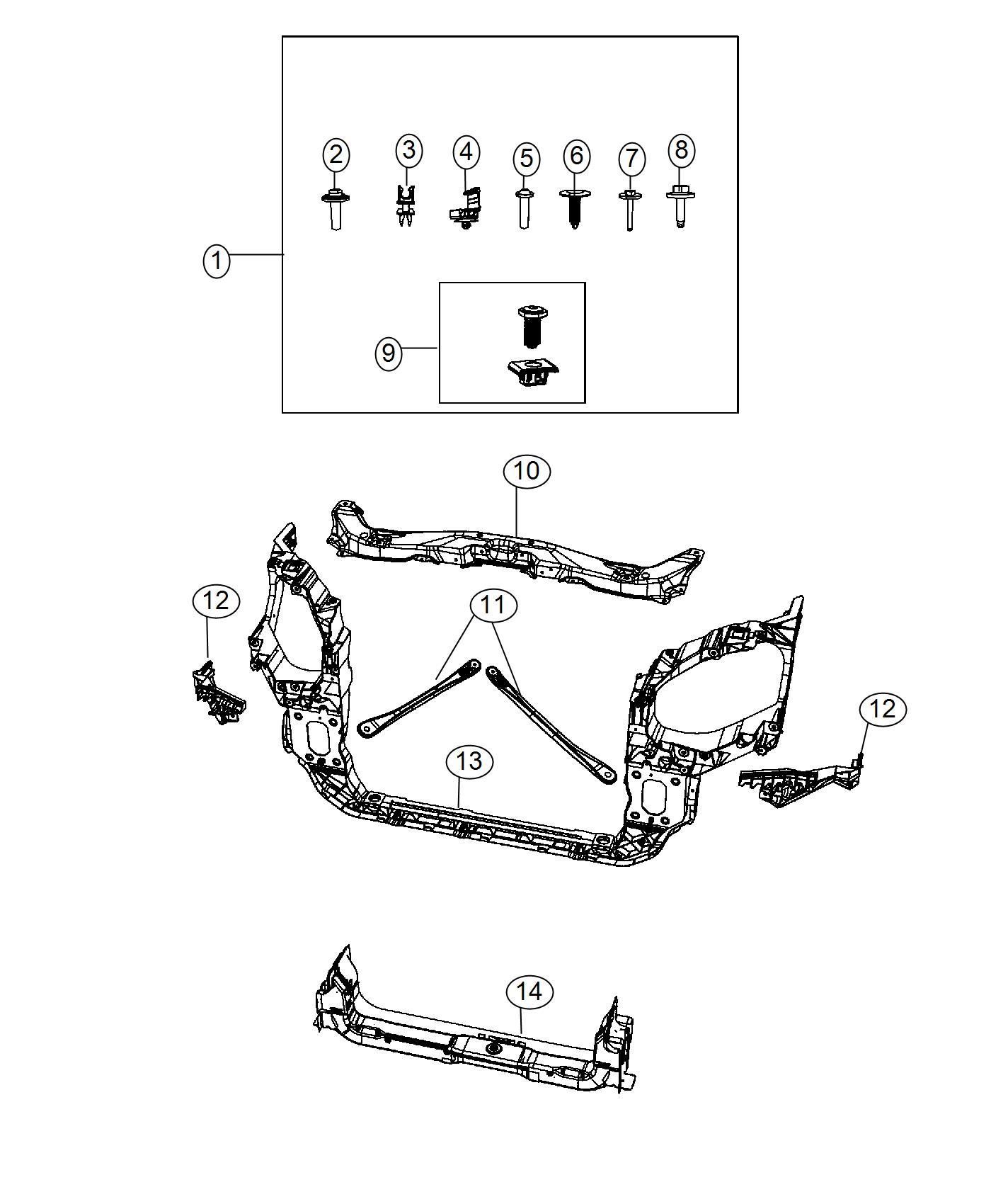 Chevy Malibu Front End Diagram