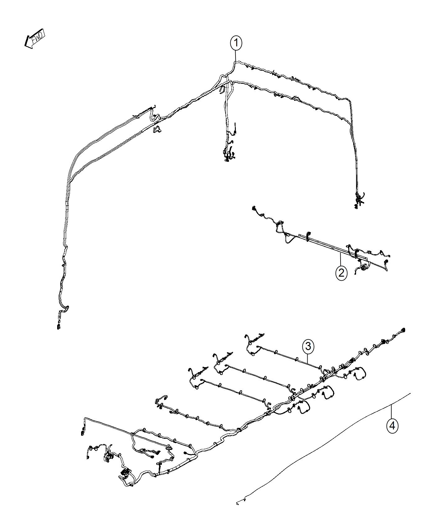 Ram Promaster Wiring Body Interior