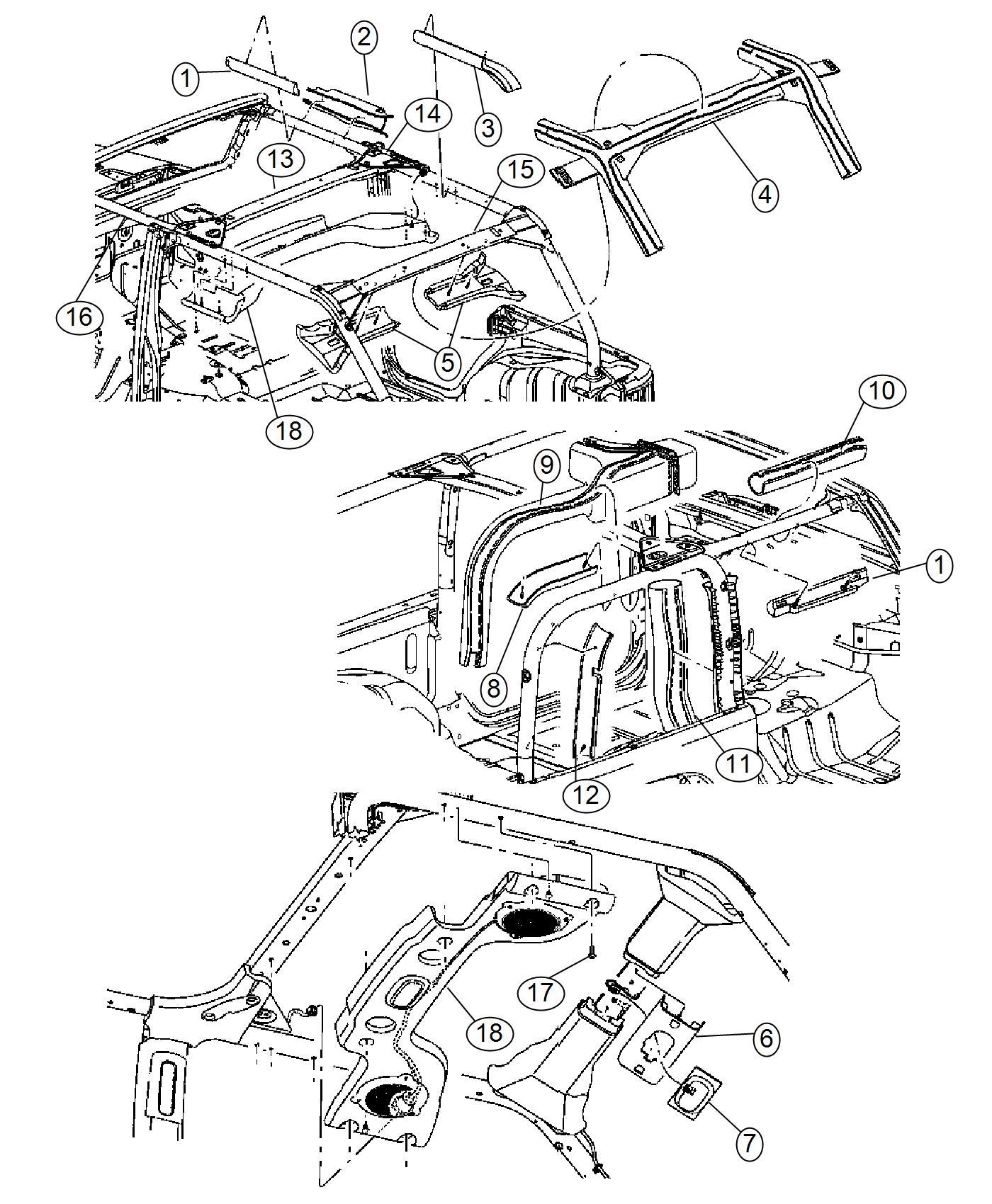 2018 Jeep Wrangler UNLIMITED RUBICON 3.6L V6 A/T 4X4 Side
