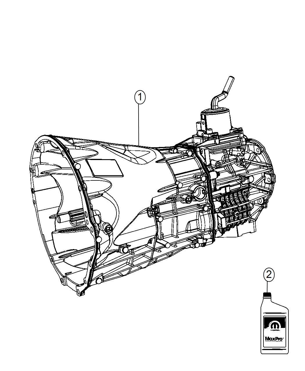Jeep Wrangler Transmission 6 Speed