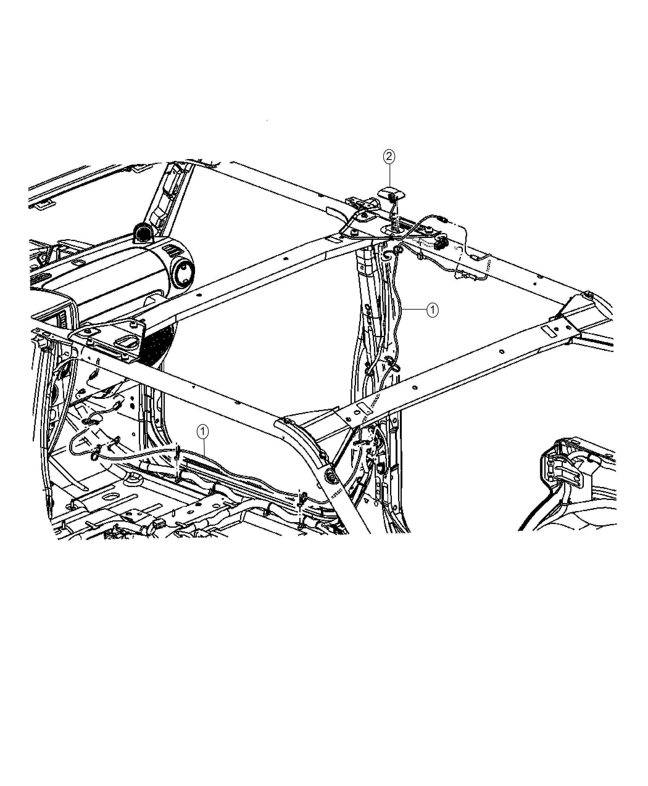 2018 Jeep Wrangler Antenna. Satellite. Radiomedia, rscrhp