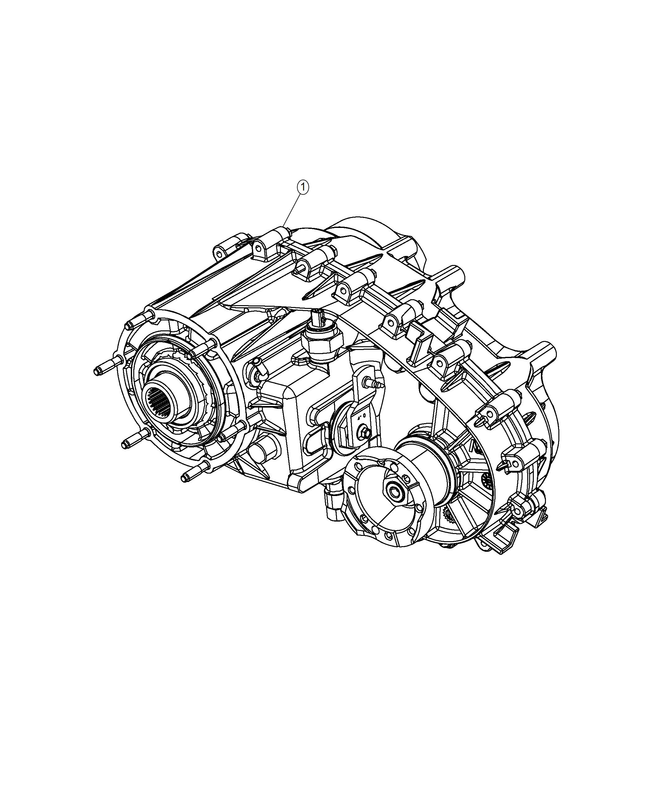 Jeep Wrangler Transfer Case Remanufactured Np241 Dgj