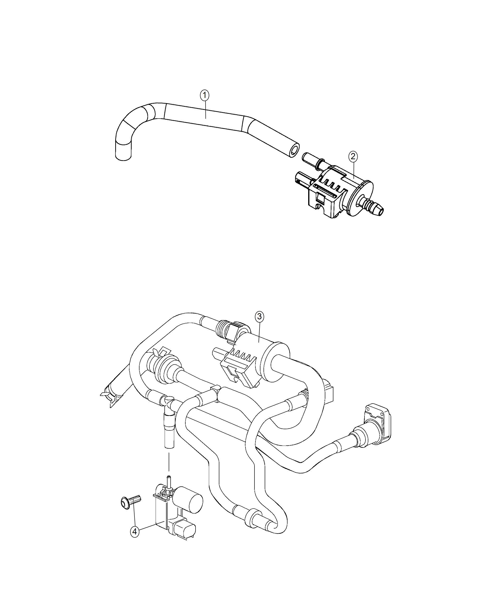 Jeep Renegade Solenoid Electronic Valve