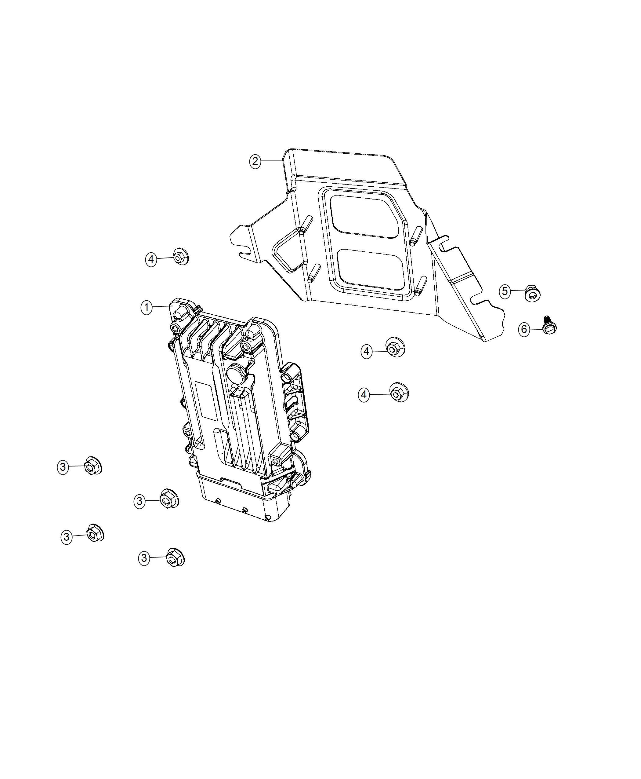 Jeep Compass Module. Awd driveline. [power train parts