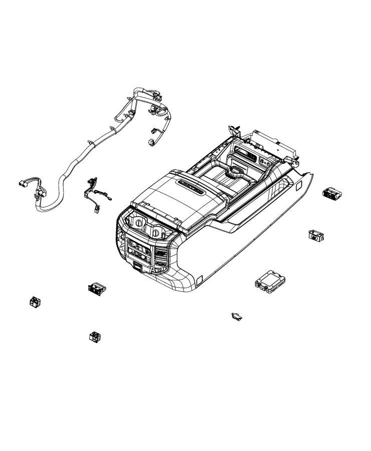 RAM 1500 Power outlet. Inverter. Trim: [no description
