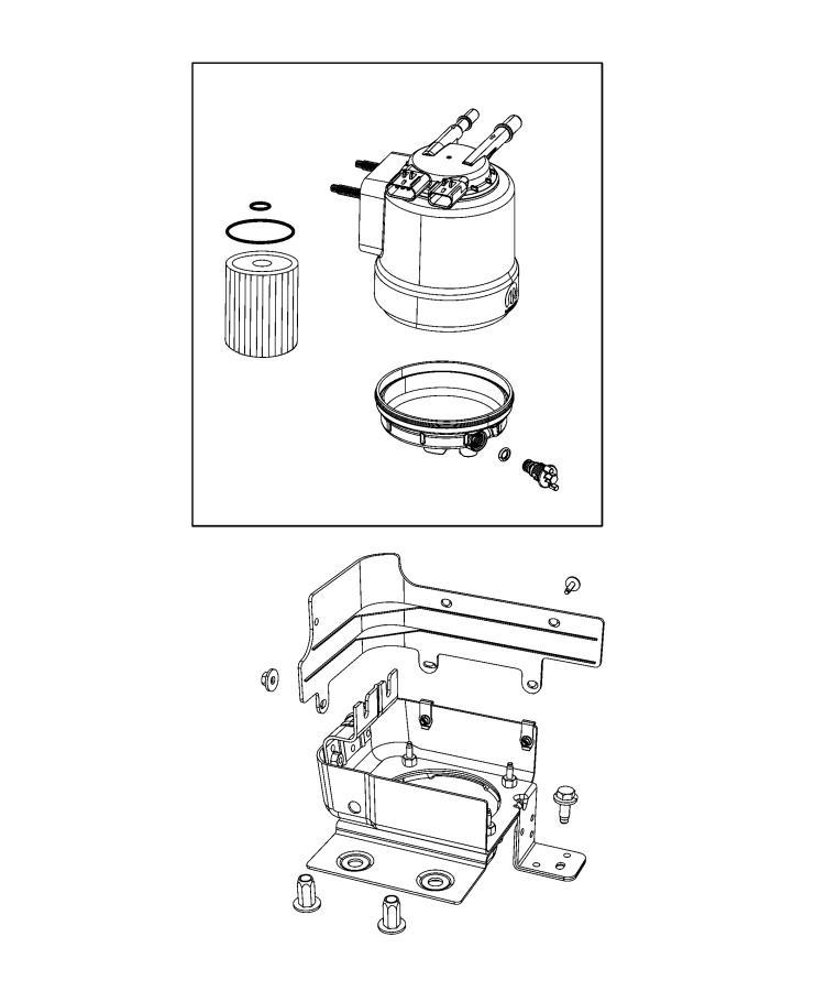 Jeep Wrangler Skid plate. Fuel tank. [3.0l v6 turbo diesel