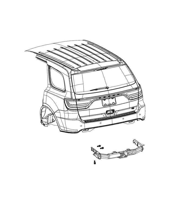 2018 Jeep Grand Cherokee Hitch. Trailer. [class iv