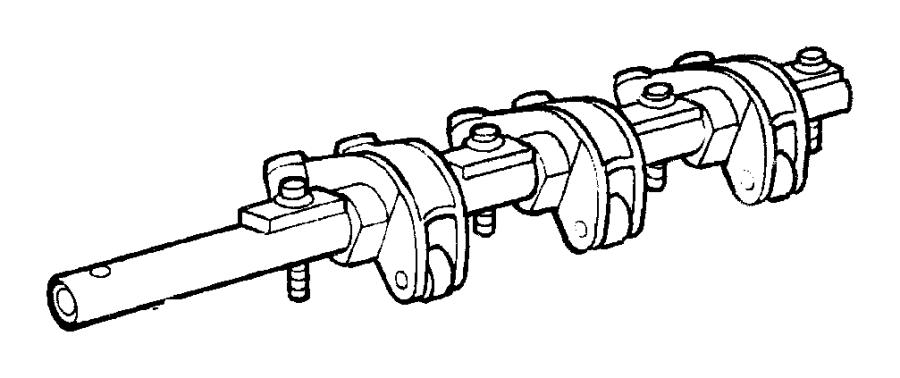 Plymouth Breeze Seal. Camshaft sensor. Pressin