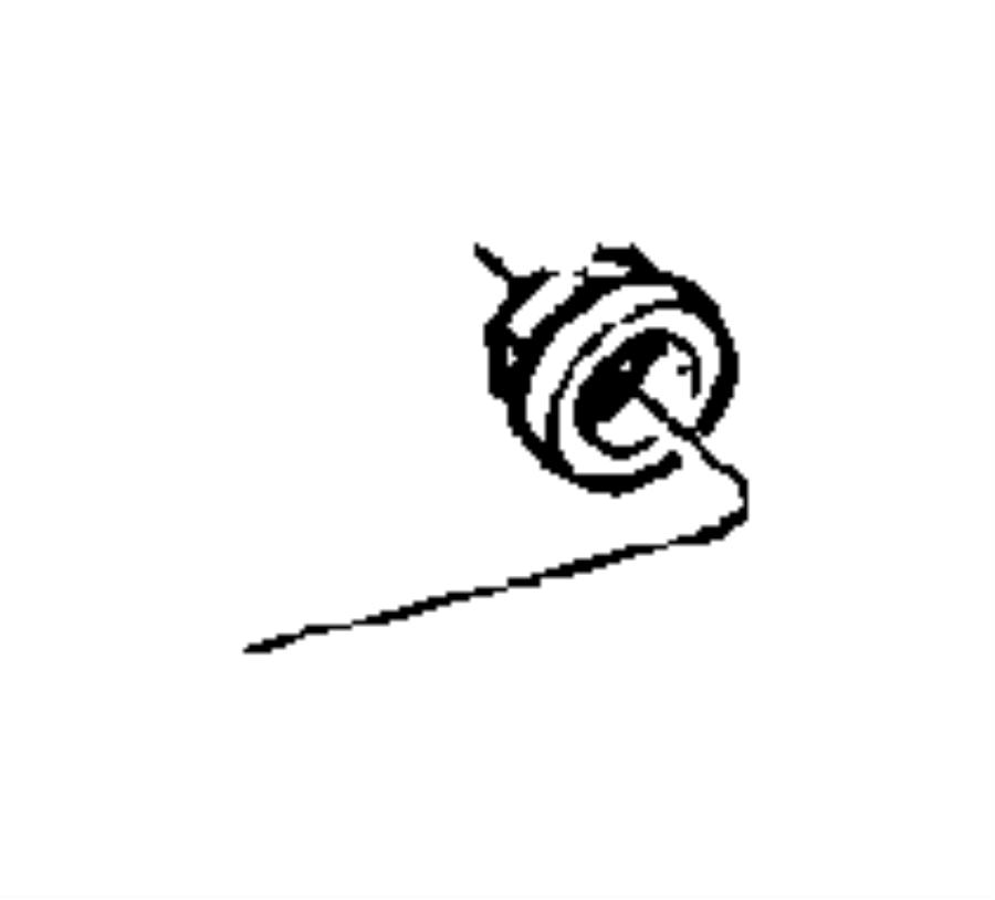 Chrysler Pt Cruiser Nut. Wiper arm. Hex flange (m8x1.25