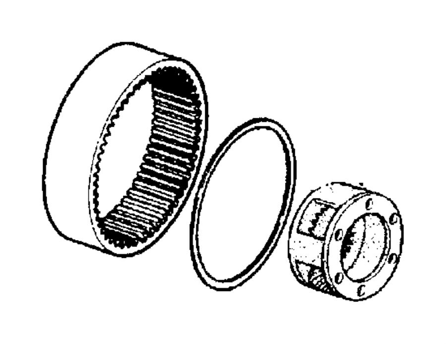Dodge Ram Planetary Transfer Case