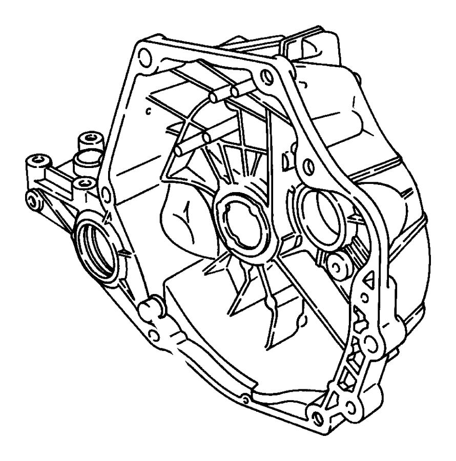 Chrysler Cirrus Pivot. Clutch release lever. Clutch