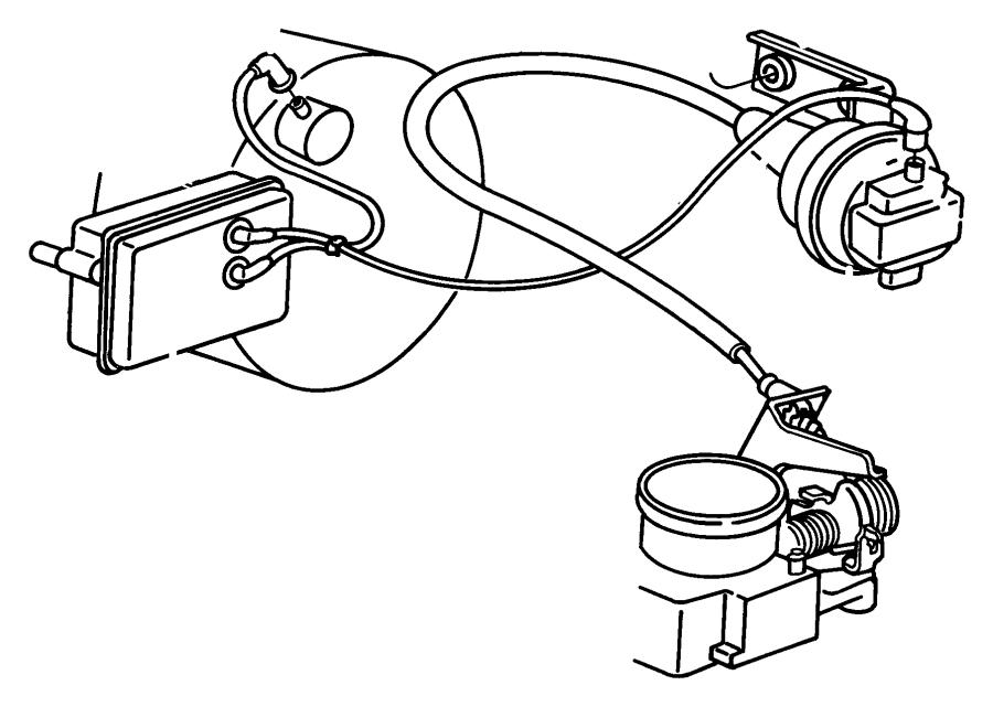 Dodge Grand Caravan Harness. Vacuum speed control