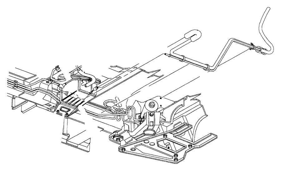 Jeep Grand Cherokee Canister. Vapor. Evaporator, vapor