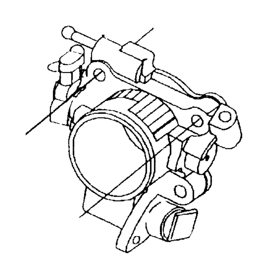 Plymouth Breeze Motor. A.i.s. Ais, idle, ecbedz