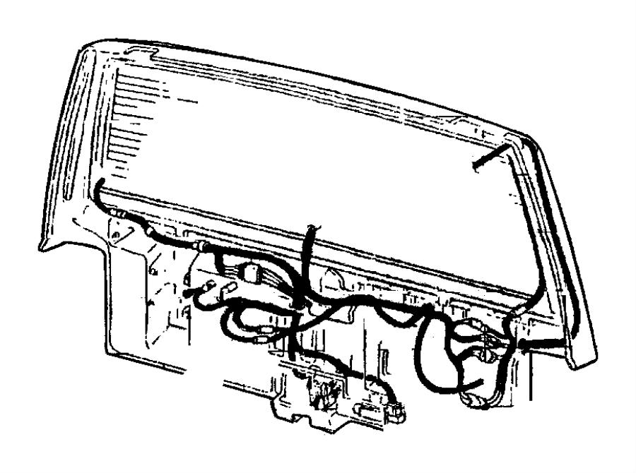 2000 Jeep Cherokee Wiring. Liftgate. Dutyargentina