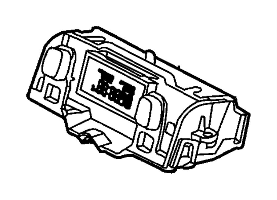 Jeep Wrangler Wiring. Overhead console. Trim: [all trim