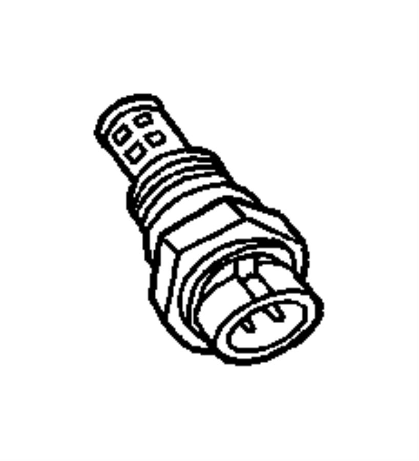 Dodge Intrepid Sensor. Coolant temperature. 2.5l & 4.0l