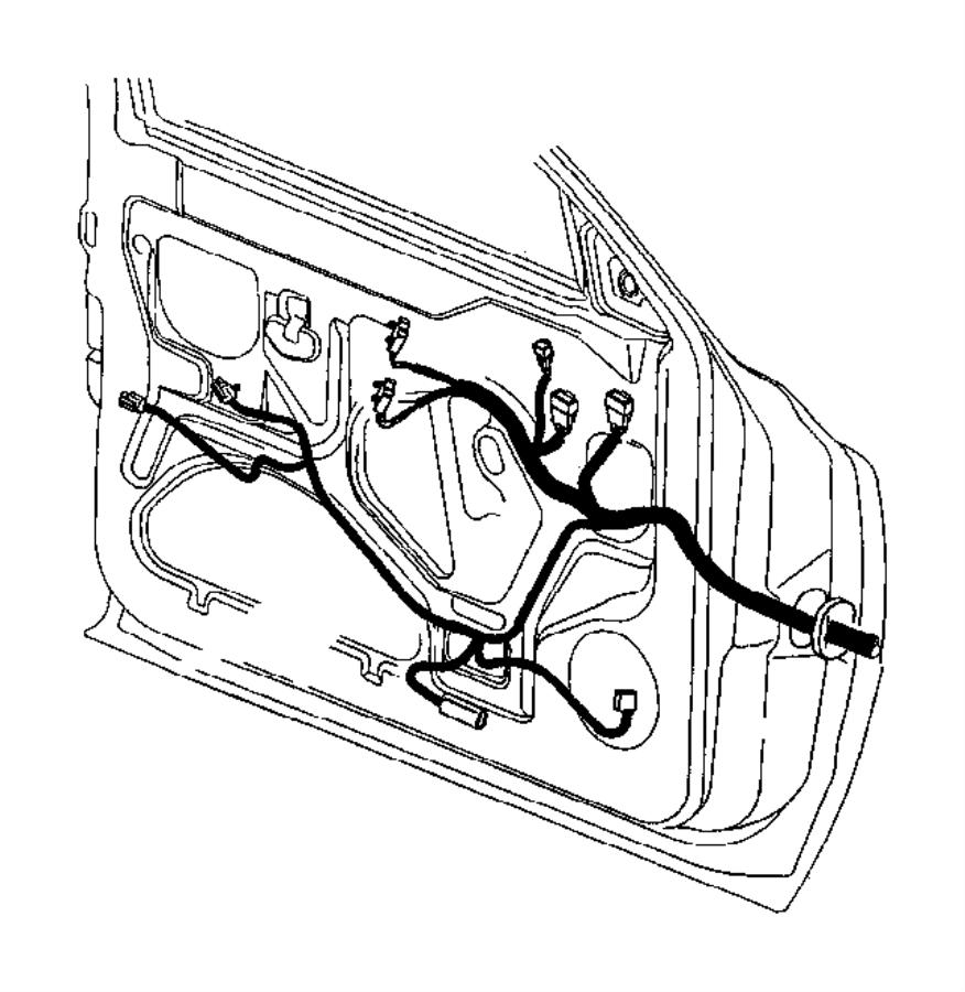 Dodge Ram 3500 Wiring. Body. W/o keyless entry & w