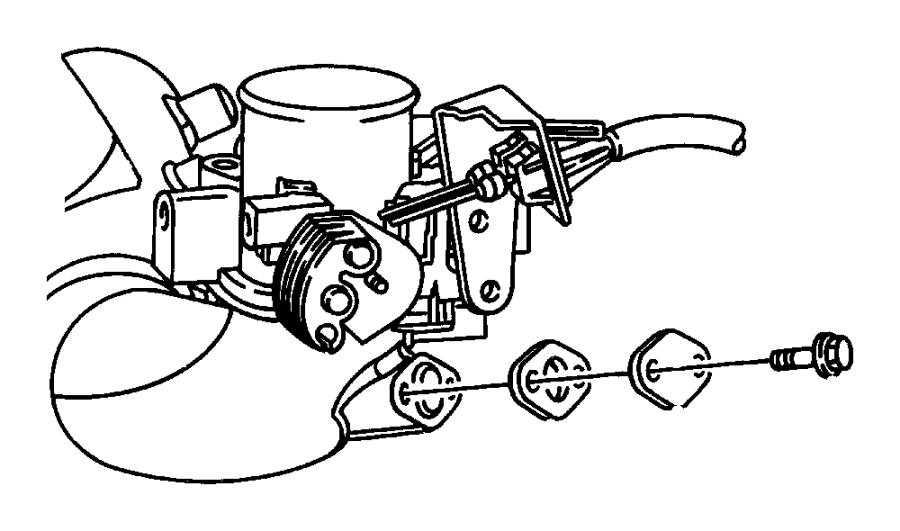 Eagle Vision Gasket. Egr tube flange. [2.7l v6 dohc 24