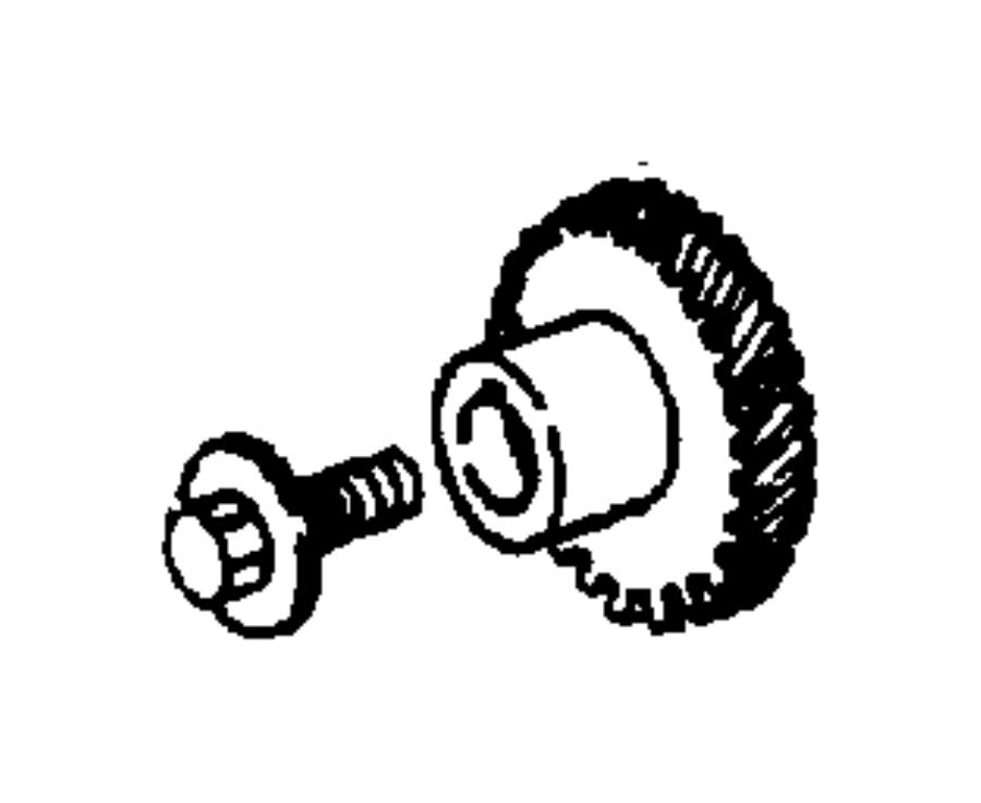 Plymouth Breeze Gear. Balance shaft driven. Flecha balance