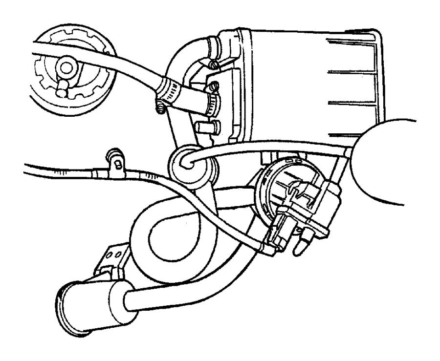 Chrysler Cirrus Filter. Fuel tank air. California
