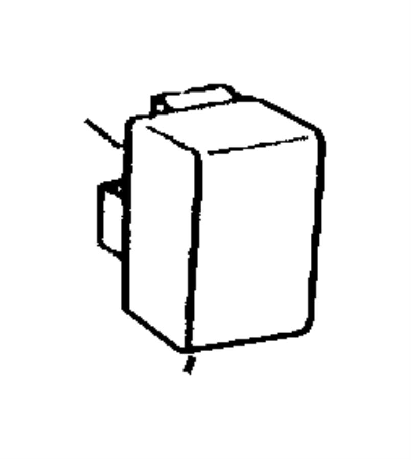 Dodge Dakota Relay. Electrical, mini. A/c, a/c clutch, abs