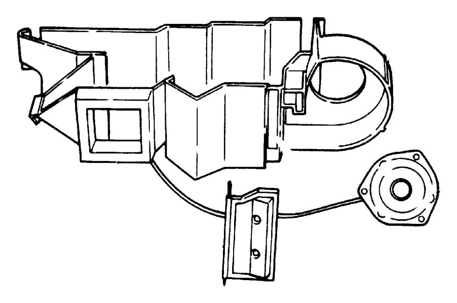 2000 Dodge Dakota QUAD CAB 4.7L V8 A/T Motor. Heater