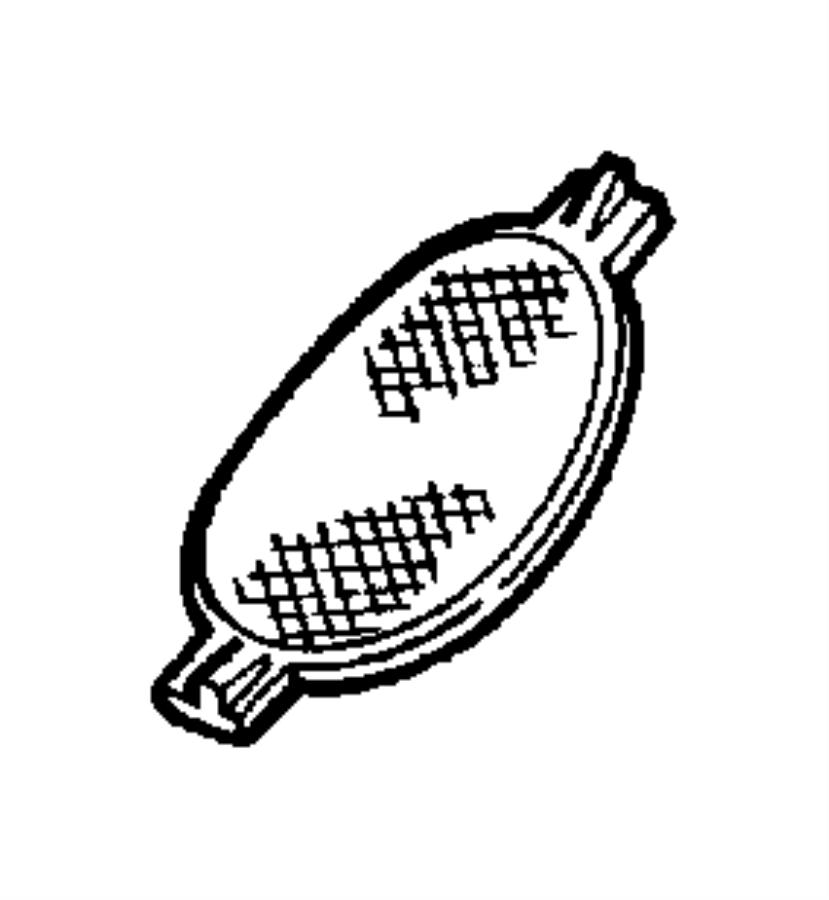 Dodge Durango Lens. Reading lamp. Right. Trim: [all trim