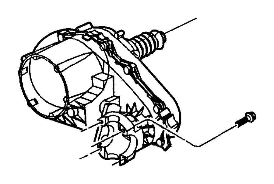 Jeep Wrangler Yoke. Drive shaft. [selec-trac full time 4wd