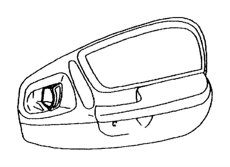 Dodge Durango Handle. Door interior. Left. [az], agate