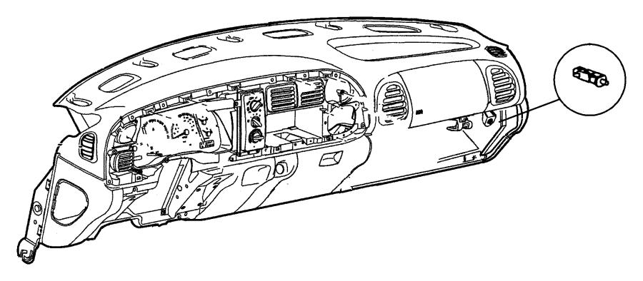 Dodge Ram 2500 Door. Fuse acess. [c3], [c8], cirrus, dark