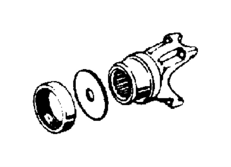 Jeep Wrangler Seal. Drive pinion. [front axle], non