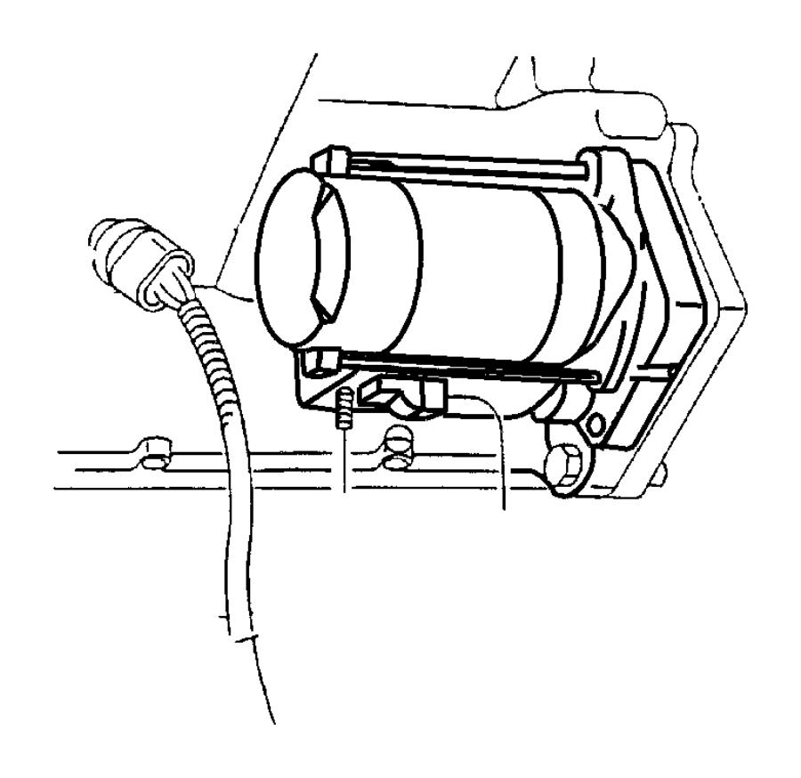 Chrysler Voyager Starter. Remanufactured. Engine. Nsgs